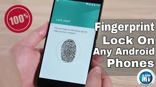 [Hindi]How To Get Real FingerPrint Lock On Any Android Phones! 2016 100% Working ||No Root||