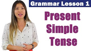 Learn Present Simple Tense | English Grammar Course 1