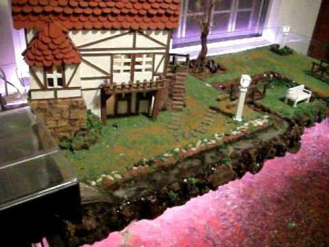Acuario maqueta casa en lago rafa youtube - Como hacer una maqueta de una casa ...