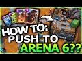 HOW TO GET TO ARENA 6??   Clash Royale   BEST LOW LEVEL HOG DECK??    LETS PLAY EP 5