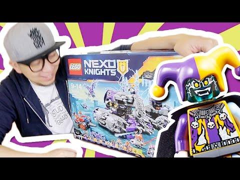 巨大小丑基地開箱!《LEGO® NEXO KNIGHTS™》Co..Co...Combo POWER!!
