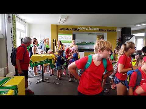 Návštěva dětí z příměstského tábora Děti sportu