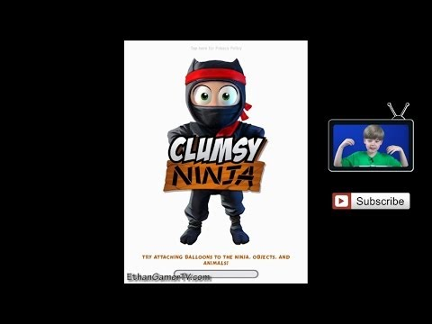 Clumsy Ninja | Ethan plays Mobile Games