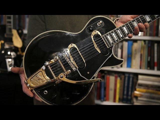 حراج گیتار ساخته شده توسط لس پاول