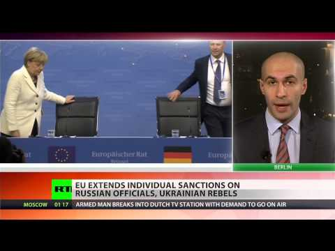 EU extends anti-Russian sanctions over situation in Ukraine