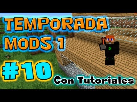 Al Nether, Nano saber y Teleport Tether-Ep10 -Temporada Mods 1 con Tutoriales!!!!