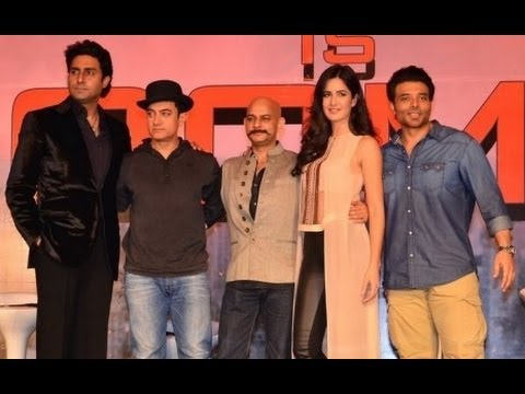 Aamir, Katrina, Abhishek And Uday Promote