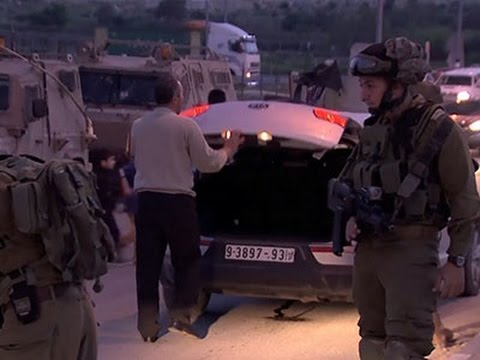 Raw: Troops Search for Missing Israeli Man