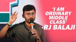 FIRST Time : RJ Balaji Sentimental Speech about his LIFE | LKG