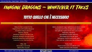 Download Lagu Imagine Dragons – Whatever It Takes - Traduzione Italiano    Inglese (Testi paralleli) con audio Gratis STAFABAND