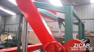 Portable horizontal band sawmill with diesel engine JY1300D