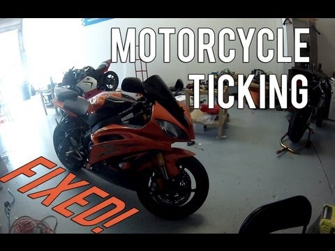 Motorcycle Ticking Problem Fixed!