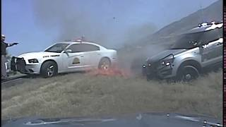 Officer Casey Dash Camera Footage - July 4 UHP shooting