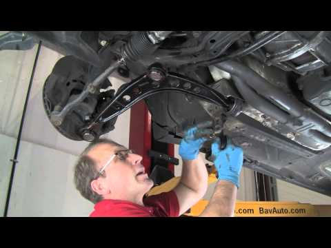 Part 2: Replacing Control Arms in a BMW 3 Series or MINI - BavAuto DIY