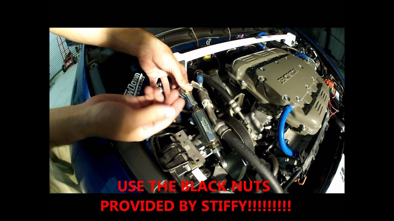 2008-2012 Honda Accord V6 STIFFY Engine Torque Damper DIY - YouTube