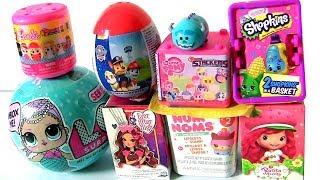 Strawberry Shotcake Doll Surprise Fashems Stackems LOL Dolls Monster High by Funtoys