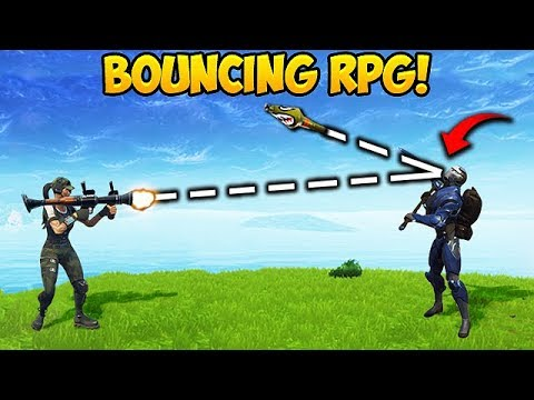 FIRST EVER BOUNCY RPG! - Fortnite Funny Fails and WTF Moments! #209 (Daily Moments)