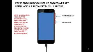 Nokia 2 hard reset