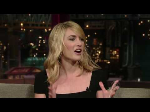 2009 Late Show with David Letterman / Kate Winslet 1