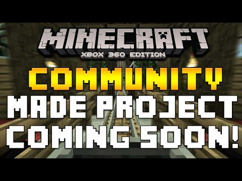 Minecraft Xbox 360 & PS3 - COMMUNITY CREATED ROLLER-COASTER COMING SOON! [NEWS]
