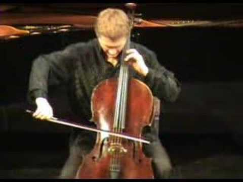 Ignacy Grzelazka plays Ligeti cello solo sonata 2nd mov. Music Videos