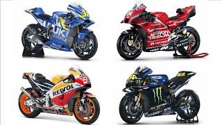 Motogp Bike Evolution | Ducati | Honda | Suzuki | Yamaha
