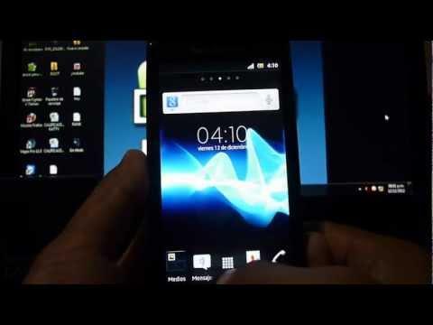 Instalar ROM Xperia NXT v1.3 en Xperia PLAY con Android 2.3.7