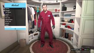 GTA 5 ALL OUTFIT OPTIONS POLICE OFFICER, SCUBA DIVER, SECURITY GAUARD AND MORE!