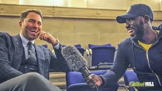 Eddie Hearn MUST WATCH: Would You Rather...? HILARIOUS Q&A!!