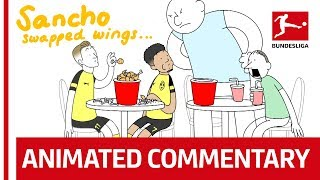 Crazy Bundesliga Football Commentary, Animated! в Powered by Nick Murray Willis