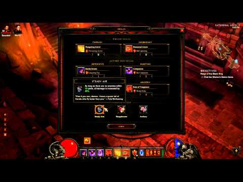 Diablo 3: Demon Hunter INSANE DPS Crits Build + Gameplay