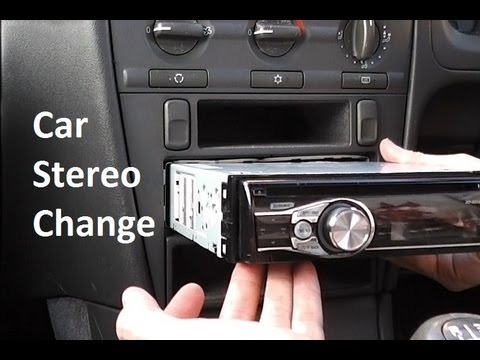 How to Change a Car Stereo