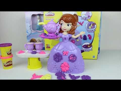Plastilina Play-Doh de la Princesa Sofia Play-Doh en Español|Mundo de Juguetes
