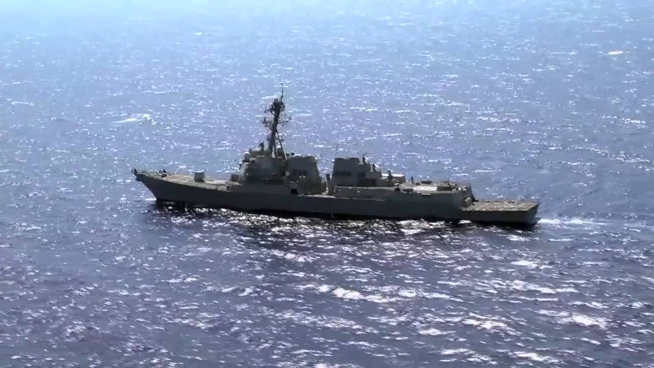 Guided Missile Destroyer Uss James E Williams Ddg 95