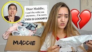 Leaving My Girlfriend With ONLY A Goodbye Letter...