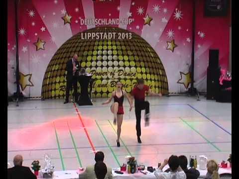Katharina Nain & Martin Berger - Deutschland Cup 2013
