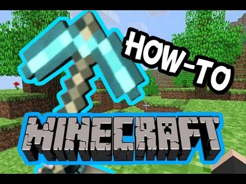 HOW TO: Build a Minecraft Pickaxe!