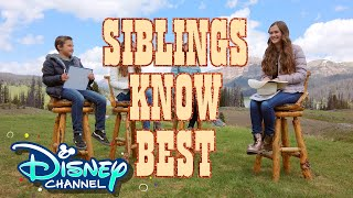 Siblings Know Best with Olivia Sanabia | Coop & Cami Ask the World | Disney Channel