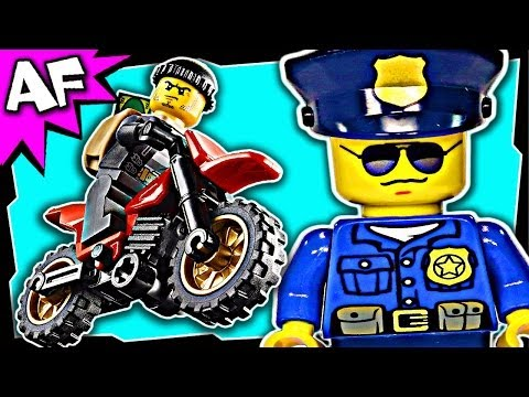 HIGH SPEED POLICE CHASE Lego City Police 60042 Building Set Review