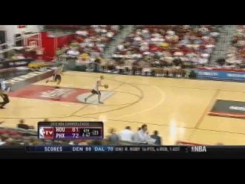 Houston Rockets Rookie Patrick Patterson Summer League Debut 7/9/2010 Video