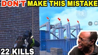 DOING THIS WAS A HUGE MISTAKE •(22 KILLS)• PUBG MOBILE GAMEPLAY (HINDI)