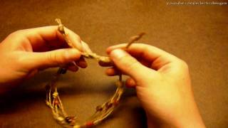 How to Make a Simple Beaded Hemp Anklet - Jewelry-making Tutorial
