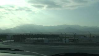 Israel-Jordan Border Terminal in Eilat HD