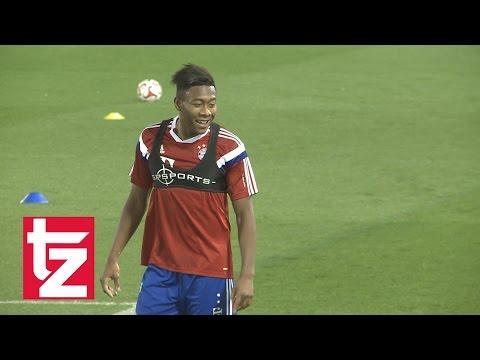 FC Bayern in Doha: David Alaba absolviert individuelle Einheit - Einzeltraining für den Österreicher