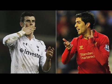 Gareth bale  VS Luis Suarez || BALLON D' Or World Player Of the YEAR shortlist
