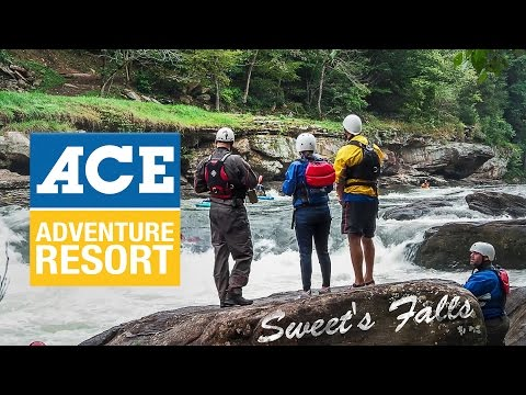 Ace Adventure Resort- Sitting next to Sweets Falls