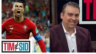 Sid reacts to Ronaldo's legendary performance against Spain