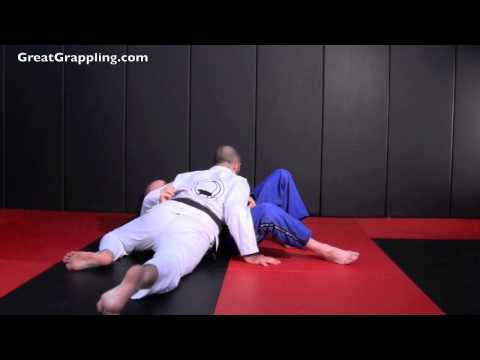 Open Guard Pass Knee Drive (No Underhook) Part 2 Image 1