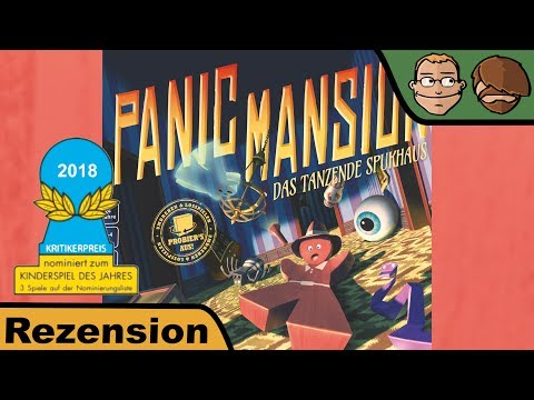 Panic Mansion - Brettspiel - Review