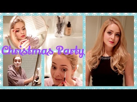 Get Ready With Me: Christmas Party!   Fleur De Force